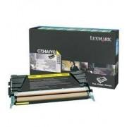 Lexmark C734A1YG toner amarillo