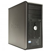 Calculator DELL Optiplex GX760 Tower, Intel Dual Core E2200 2.40 GHz, 1 GB DDR 2, 80GB SATA, DVD-RW