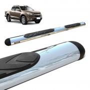 Estribo Oval S10 2012 a 2020 Cromado Aço Carbono Bepo