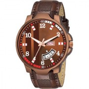 Lava Creation Analogue Maroon Dial Day And Date Function watch for Gentlemen Premium Quality Men's Watch ( 2038-MR )
