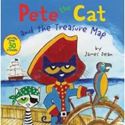 Pete the Cat and the Treasure Map, Paperback/James Dean