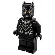Lego Black Panther T'Challa Minifigure Marvel Avengers Super Hero - Civil War Version - Loose