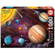 Solar System - Neon Series Jigsaw Puzzle (1000 pcs) - Educa