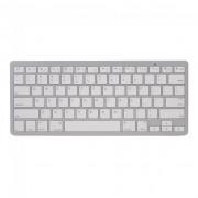 Wit Bluetooth keyboard draadloos toetsenbord QWERTY