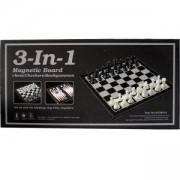 Комплект за игра 3 в 1 Шах, Табла, Дама с Магнитен борд, 502114464