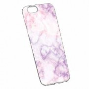 Husa Silicon Transparent Slim Marble 129 Apple iPhone 6 PLUS 6S PLUS