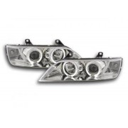 FK-Automotive fari Angel Eyes BMW Z3 tipo E37 anno di costr. 96-02 cromati