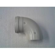 90°-os könyok kondenz átm: 80/125 PPs/Alu PAKÖ8012590