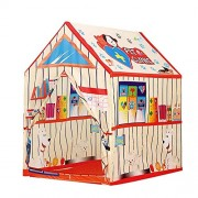 crazy toys Kids Play Tent Pet Clinic House,Indoor/Outdoor Water Repellent Folds Kids Tents,Flame-Resistant Playhouse Toy