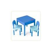 Set masuta cu 2 scaune Lego Albastru