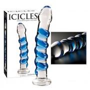 Icicles - spirális üvegdildó