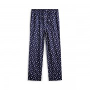 Polo Ralph Lauren Cotton Jersey Sleep Trouser - Cruise Navy Boat Print - Size: Medium