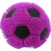 Toi-toys Pufferbal Voetbal Paars 13 Cm