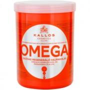 Kallos KJMN mascarilla nutritiva para cabello con complejo omega-6 y aceite de macadamia 1000 ml