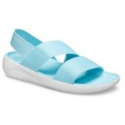 Crocs LiteRide™ Stretch Sandalen Damen Ice Blue / Almost White 42