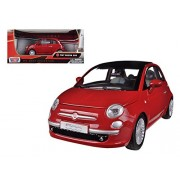 Fiat 500 Nuova Red 1/24 by Motormax 73373
