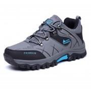 Zapatos TENIS Deportivos Hombre Al Aire Libre Alpinismo Zapatillas -Gris