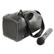 Hollywood Amplificatore Voce Portatile Pss Bluetooth Con Amplificatore Usb E Microfono Wireless