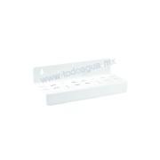 Sujetador Triple P/Portafiltro Blanco Estándar