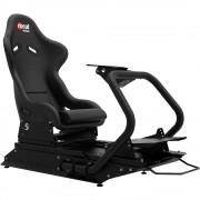 Scaun gaming Rseat S1 black-black