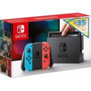 Nintendo Switch - Summer Digital Bundle igraća konzola, crvena/plava