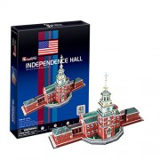 "CubicFun 3D Puzzle C-Series ""The Independence Hall - Philadelphia"""