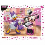 Puzzle cu rama - Minnie 40 piese