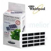 Whirlpool Filtr antybakteryjny powietrza Microban ANT001 do lodówek - BOX 2szt