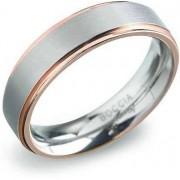 Unknown Boccia Titanium 0134-03 Ring - Bicolor - Unisex - 20.75mm