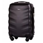 Mała walizka kabinowa podręczna SOLIER STL 402 ABS - CZARNY