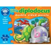 Puzzle Fata/Verso - Diplodocus (12 Piese) - Orchard Toys (302)