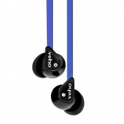 Veho 360 Stereo Noise Isolating Earphones - Blue
