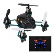 Hubsan Q4 H111 4-Channel RC Quadcopter With 2.4GHz Radio System(Negro)