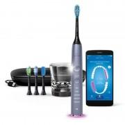 Philips Sonicare DiamondClean Smart HX9924/47 sonický elektrický zubní kartáček s nabíjecí sklenicí Silver HX9924/47