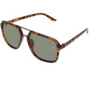 Collet Over-sized Sunglasses(Black)