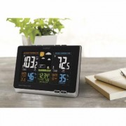 La Crosse Technology Wireless Atomic Color Forecast Station - Digital Display, Model 308-1414B