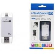 SEC iFLASH DRIVE 64 GB OTG Drive(White, Type A to Lightning)