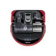 Samsung POWERbot VR20J9010UR Aspirapolvere Robot, Rosso, Nero, Argento