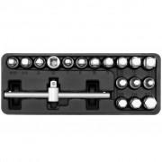 YATO Комплект ключове и върток за маслен резервоар, 18 бр