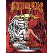 Satanic Coloring Book: Featuring: Satan, Lucifer, Black Goat, Cthulhu, the grim reaper, the Krampus, Baphomet and More!. 35 Single-sided page, Paperback/Juan Giraldo