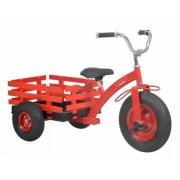 Tricicleta cu remorca HECHT 59790 rosie, capacitate 50 kg