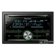 Pioneer FH-X840DAB CD, USB auto hifi upravljačka jedinica, crna/plava