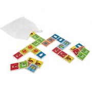 Hape - Early Explorer - Zoo Animals Wooden Mix and Match Tile Game