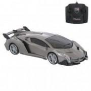 Masinuta Lamborghini gri telecomanda control Luxury