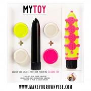MYTOY Vibrator Kit - gelb & pink