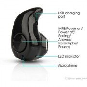 Oppo Find 9 Compatible Mini Style Wireless Bluetooth In-Ear V4.0 Stealth Earphone Headset By GO SHOPS