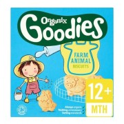 Organix Goodies biscuiti ecologici in forma de animale, 1 an+, 100 g