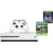 Microsoft igrača konzola Xbox One S 500 GB + Minecraft + Minecraft Story Mode