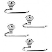 Doyours Stainless Steel Glossy Towel Holder - Set of 4