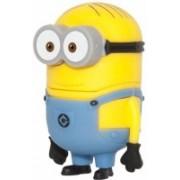 Microware Cartoon Rush Shape 16 GB Pen Drive(Yellow)